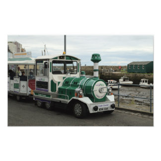 Land Train In St Andrews Harbour Photograph