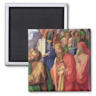 Landauer Altarpiece: King David, 1511 Square Magnet