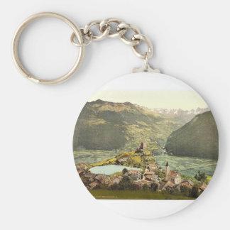 Landeck, Ladis, near Landeck, Tyrol, Austro-Hungar Key Chain