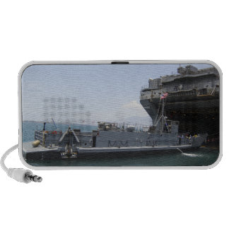 Landing Craft Utility moving into position Laptop Speaker
