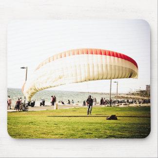Landing in Tel Aviv Mouse Mat