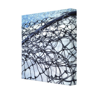 Landing Net Canvas Print