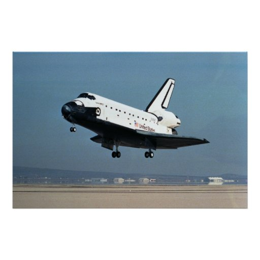 Landing of Space Shuttle Discovery (STS-26) Posters
