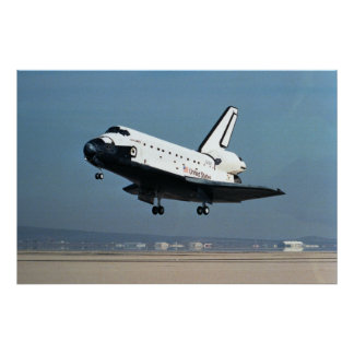 Landing of Space Shuttle Discovery STS-26 Posters