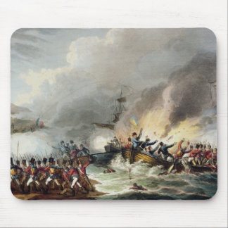 Landing of the British Troops in Egypt, March 1801 Mouse Pad