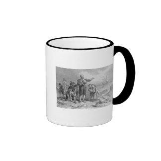 Landing of the Pilgrims, 1620 Ringer Mug