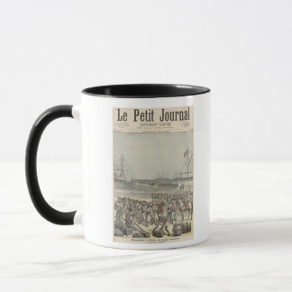 Landing of the Senegalese Troops at the New Wharf Mug