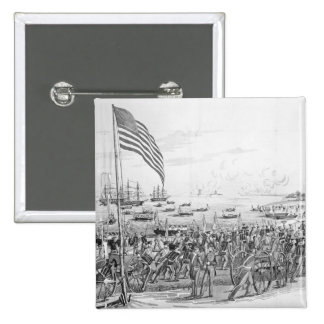 Landing of the Troops at Vera Cruz, Mexico Pins
