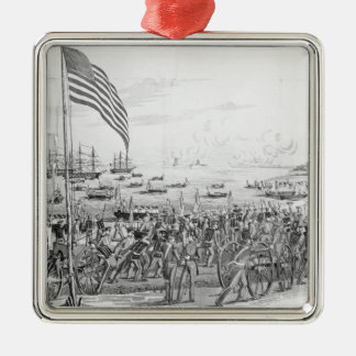 Landing of the Troops at Vera Cruz, Mexico Christmas Ornament