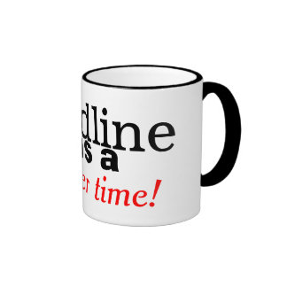 Landline Was A Simpler Time Retro Phone Mug Ringer Mug