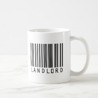 Landlord Bar Code Coffee Mug