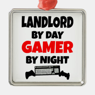 Landlord by Day Gamer by Night Christmas Ornament