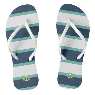 landlord nautical flip flops