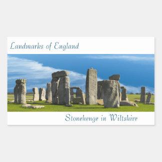 Landmark image of England for Rectangle-Stickers Rectangular Sticker