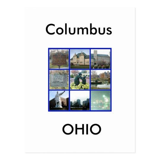 Landmark of Columbus, Ohio Postcard