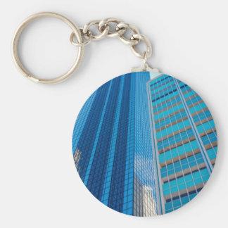 Landmarks Basic Round Button Key Ring