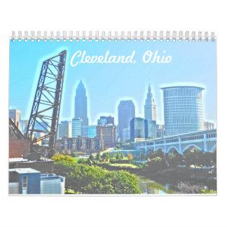 Landmarks Cleveland Ohio Calendar