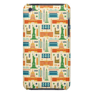 Landmarks of United States of America Barely There iPod Cases