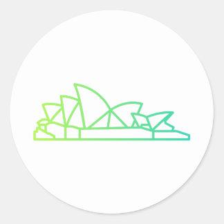 Landmarks - Sydney Opera House Sticker