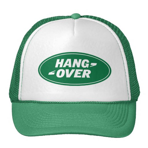 landrover.hang.over trucker hats