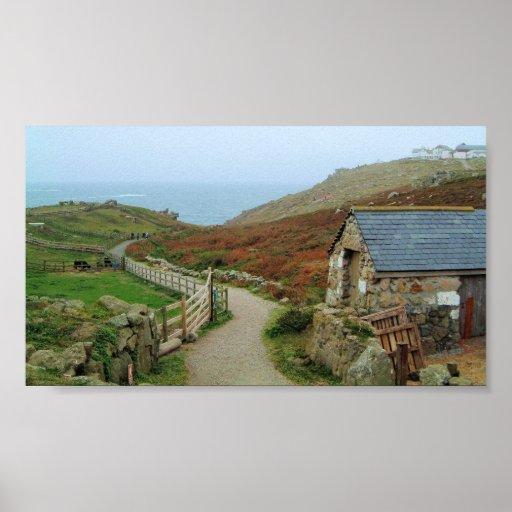 Land's End Cornwall Print