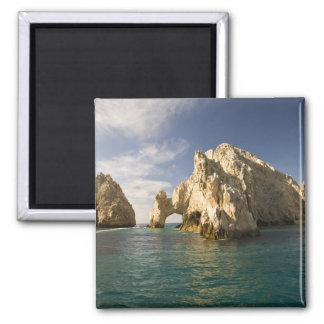 Land's End, The Arch near Cabo San Lucas, Baja Square Magnet