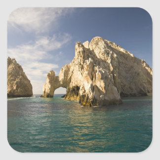 Land's End, The Arch near Cabo San Lucas, Baja Square Sticker