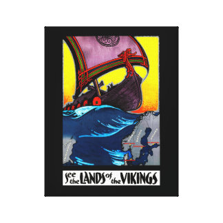 Lands of the Vikings Canvas Print