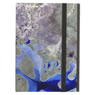 Landsat 7 Lake Carnegie Cover For iPad Air