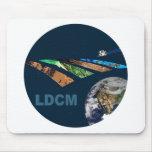 Landsat Data Continuity Mission Program Logo Mousemat