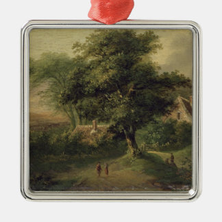 Landscape, 1827 christmas ornament