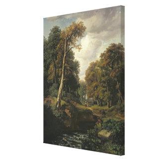 Landscape, 1850 canvas print