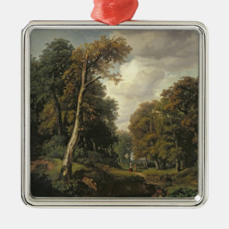 Landscape, 1850 christmas ornament