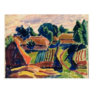 Landscape, 1908-12 postcard
