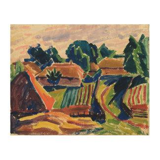 Landscape, 1908-12 wood print