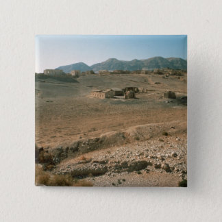 Landscape 3 15 cm square badge