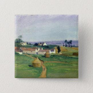 Landscape 4 15 cm square badge
