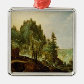 Landscape 4 christmas ornament