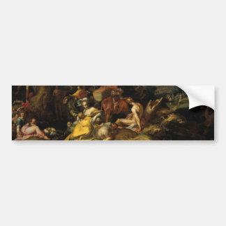 Landscape - Abraham Bloemaert Bumper Sticker