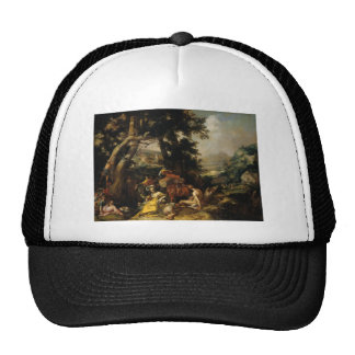 Landscape - Abraham Bloemaert Mesh Hats