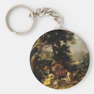 Landscape - Abraham Bloemaert Key Chain
