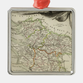 Landscape and Forest Christmas Ornament