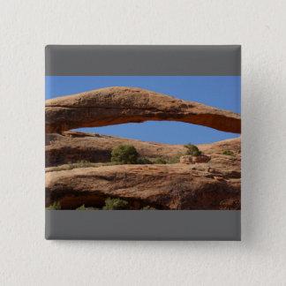 Landscape Arch 15 Cm Square Badge