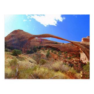 Landscape Arch, Arches National Park, Utah Postcard