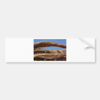 Landscape Arch Bumper Sticker