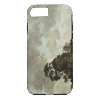 Landscape at Hampstead, Tree and Storm Clouds, c.1 iPhone 8/7 Case