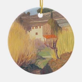 Landscape at Lagnes, 1921 Christmas Ornament