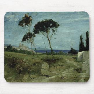 Landscape at Nettuno, 1887 Mouse Mat