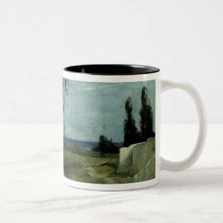 Landscape at Nettuno, 1887 Two-Tone Coffee Mug
