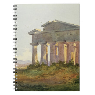 Landscape at Paestum (w/c on paper) Notebooks